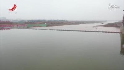 高安锦河抬水坝启闸蓄水