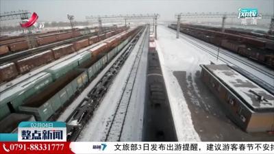 新疆双口岸首月开门红:进出境中欧(中亚)班列达956列