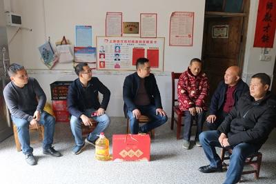 萍乡上栗镇:爱心企业情系贫困户 慰问暖人心
