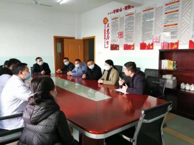 吉州区委组织部副部长曾庆娟一行前往吉安市第一人民医院走访慰问