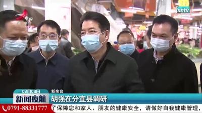 胡强在分宜县调研