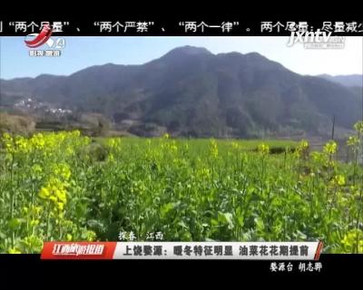 【探春·江西】上饶婺源:暖冬特征明显 油菜花花期提前