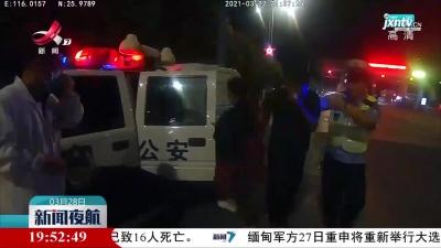 赣州瑞金:司机突发疾病 交警紧急救助