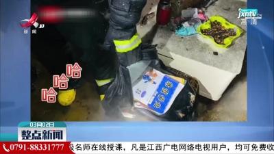 """河南:消防员火海救出寒假作业笑出声""""保护好"""""""
