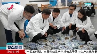 景德镇市陶瓷考古研究所成功修复上百件明代青花瓷枕