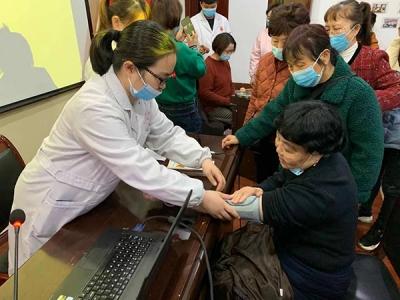 【守筑健康、爱心同行】萍乡八一街开展健康知识讲座及义诊活动