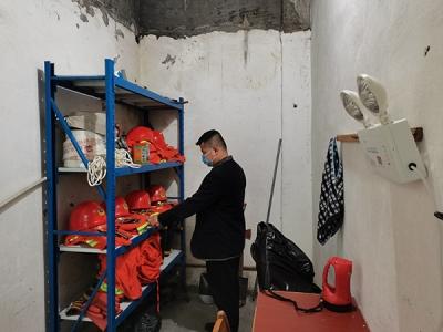 萍乡八一街:时刻紧绷安全弦 安全检查不停歇