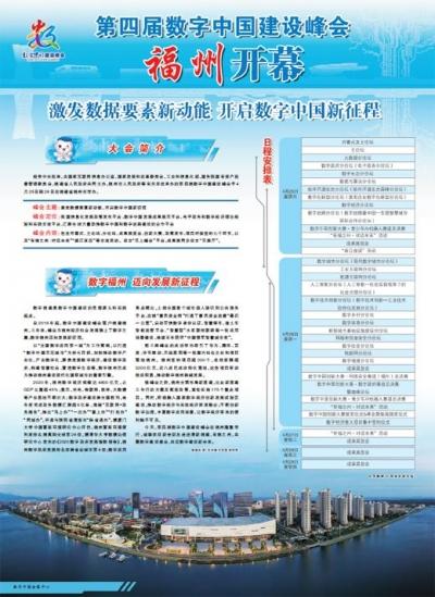 第四届数字中国建设峰会福州开幕