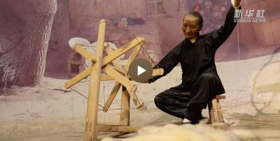 红色百宝 奋斗百年丨第32集:你会纺线么?来看这架南泥湾小纺车