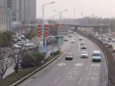 全国361个城市中 南昌首次进入交通健康榜前十