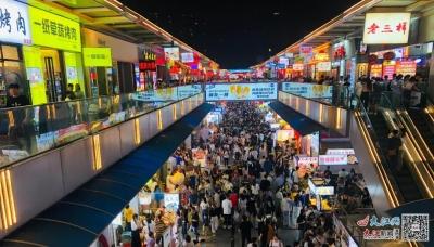 """""""五一""""跑火 江西80家零售企业实现销售额70.2亿元"""