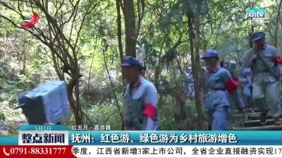 【红五月·嘉游赣】抚州:红色游、绿色游为乡村旅游增色