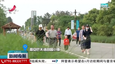 """【红五月·嘉游赣】""""活力""""乡村游 快乐过五一"""