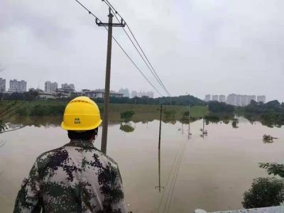 国网鹰潭市月湖区供电公司:隔离浸泡电缆箱 保障居民安全用电