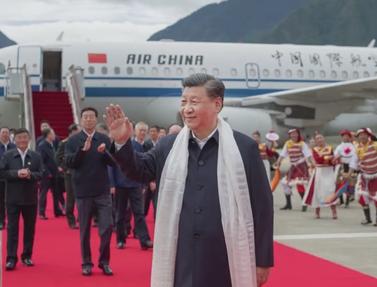 习近平西藏行丨城市发展 规划引领——走进林芝市城市规划馆