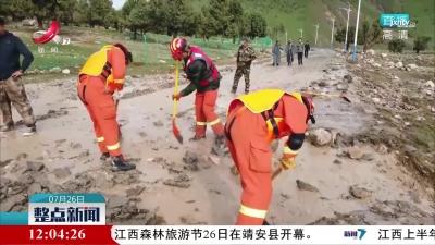 青海:景区发生山洪 百余名游客已全部获救