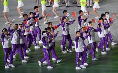 全运会|港澳运动健儿亮相全运会受到热烈欢迎
