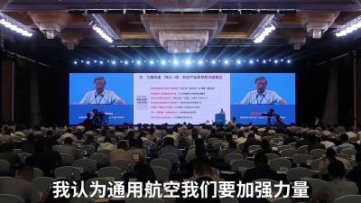 刘大响:发展航空产业 建议江西成立省级租赁公司