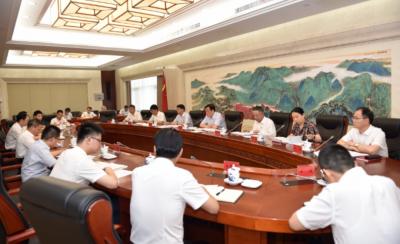 刘奇书记参加所在党支部党史学习教育专题组织生活会