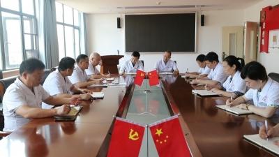 永修县人民医院:党建引领业务提升  业务促进党建过硬