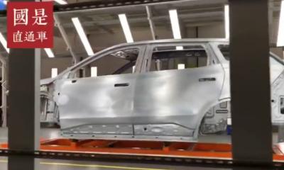 """一辆新能源汽车是如何被制造出来的?数百台""""变形金刚""""同时作业"""