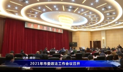 2021年市委政法工作會議召開