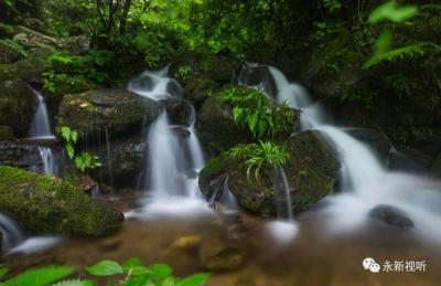 【江西是個好地方--福地吉安】永新:南華山瀑布群,宛如仙境!