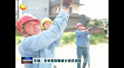 豐城:多舉措保障城鄉居民用電