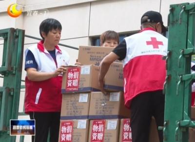 我市一愛心企業趕制120萬元消殺物資捐贈河南災區