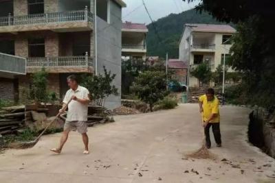 新干县积极开展村庄清洁行动