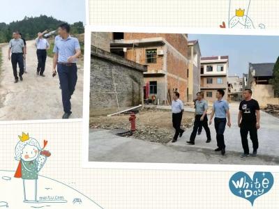 我县开展美丽乡村特色村点和示范带建设督查