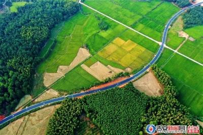 新干:旅游公路美如画(组图)