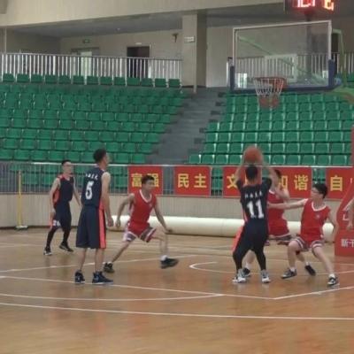 新干这项篮球赛在体育馆开赛,连续一周快来看球吧!