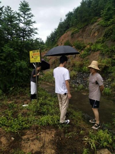 桃溪:严阵以待 确保安全度汛