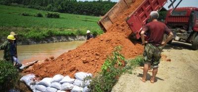 新干县田南水库管理局  全力做好灌区水利工程修复工作
