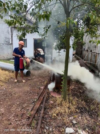 县自来水公司开展生产应急演练