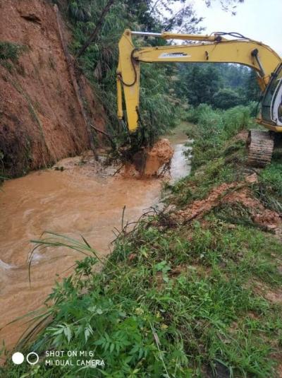 县田南水库管理局全力做好灌区水利工程修复工作