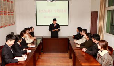 """城北社区开展""""民法典'典'亮百姓新生活""""宣传活动"""