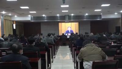 我县组织收看全市深化事业单位改革试点工作视频会议