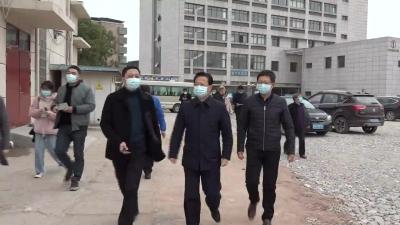 县领导开展大气污染防治督查