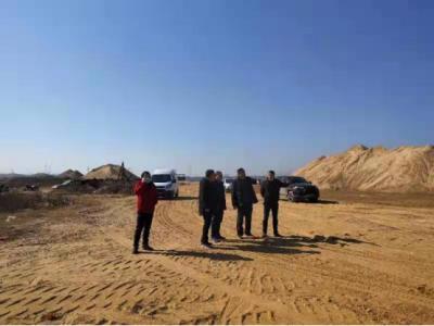 市水利局对我县砂石公司进行安全生产督查
