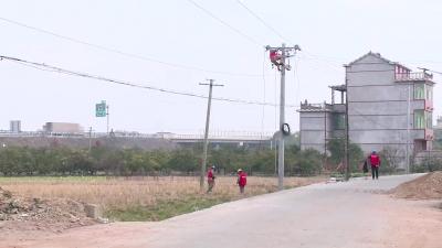 新干:春节临近  农村电网改造忙