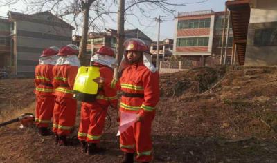 """新干县开展""""人人都是防火员""""森林防灭火宣讲活动"""