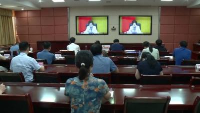 我县组织收听收看全国医改工作电视电话会