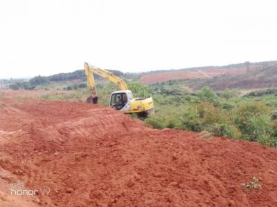 荷浦乡全力推进土地整治项目建设