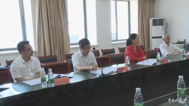 焦学军参加市委四届八次全体(扩大)会议分组讨论