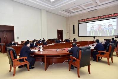刘奇书记检查调度全省安全生产工作