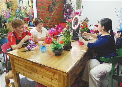 江西省建立残疾人实训基地,将技能培训和灵活就业融为一体 小小手工艺带给残疾人生活新希望