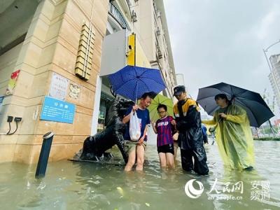 夏汛日报:安徽多地汛情告急 淮河流域防洪风险加大