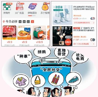 2020年中国拼购电商用户预计将逾5亿人